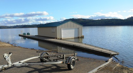 Boat Ramp A  is Closed