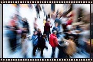 clip art of crowd