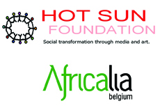 Hot Sun Foundation, Africalia logos