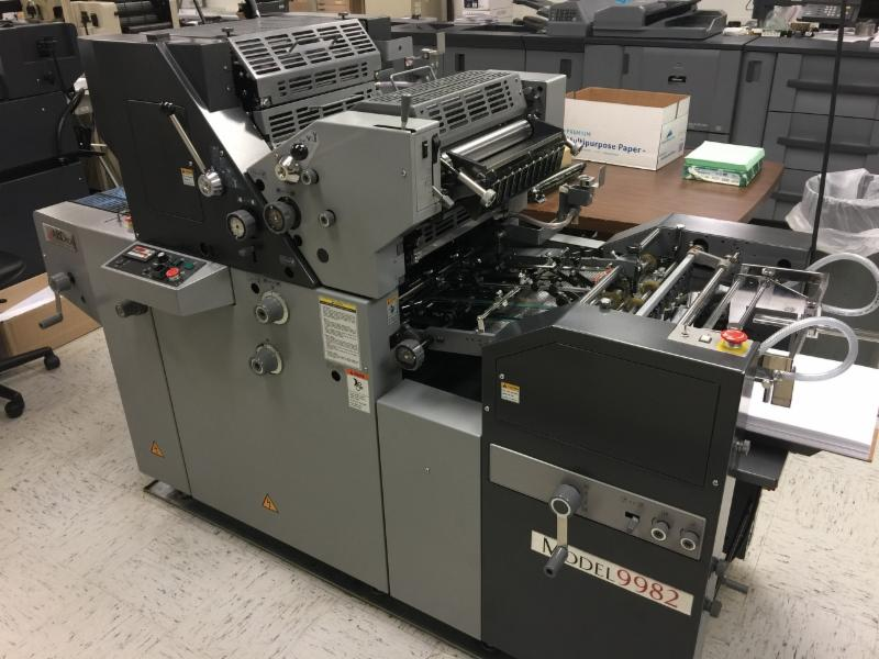 Ab dick printing press history