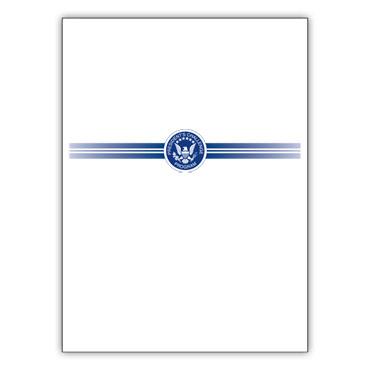 President's Challenge Certificate Folder