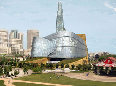 Canadian Museum of Human Rights in Winnipeg, MB