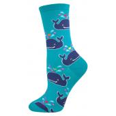 Women's whale socks