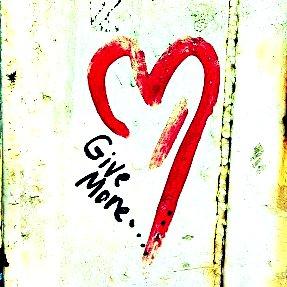 give more grafitti