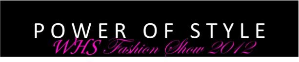 fashion show header