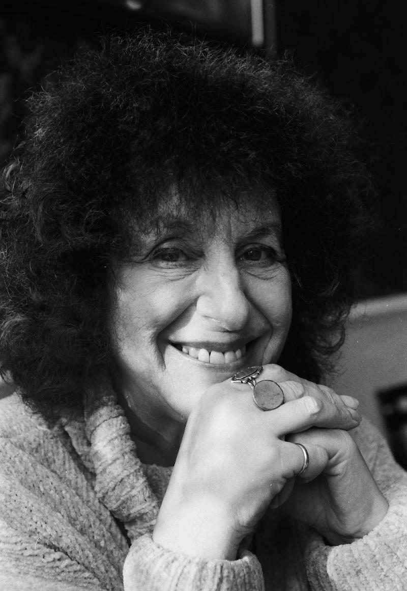 Poet Elaine Feinstein c. Nigel Sutton