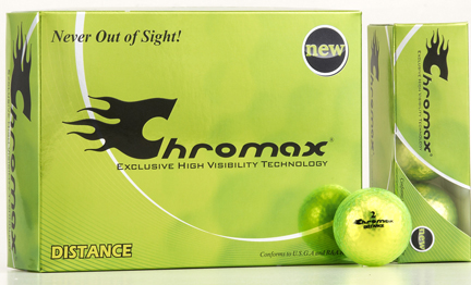 Chromax Distance Balls Packaged