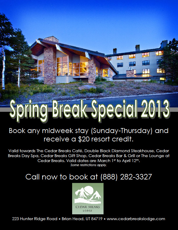 CBL Spring Break Special
