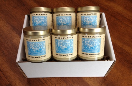Rare Hawaiian Organic Winter Honey