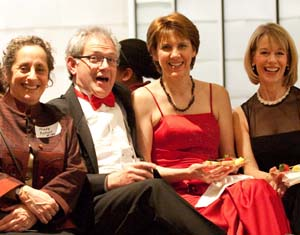 Chorale singers at Cabernet Cabaret