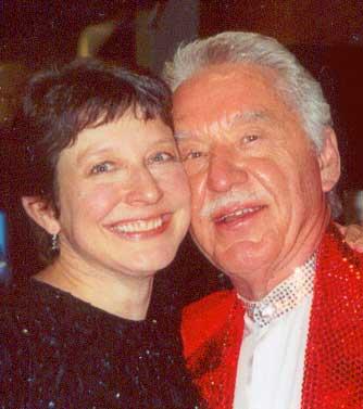 Kathy Saltzman Romey with Doc Severinsen