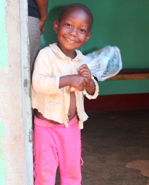 Little girl in Kyankwanzi, Uganda