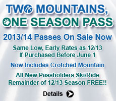 13/14 Season Passes On Sale