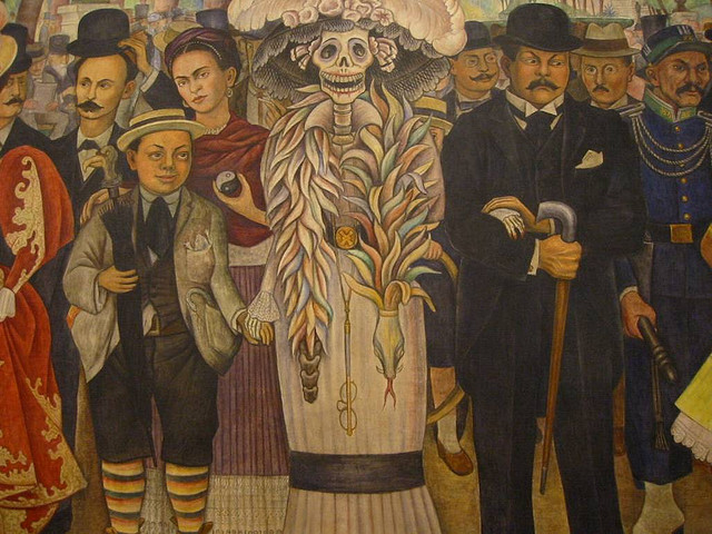 October news events from portoluz for Diego rivera mural chicago