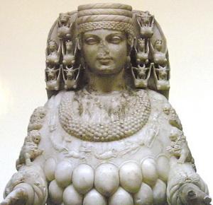 Artemis, head