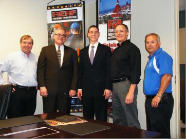 Ohio Senate Hopeful visits FIA