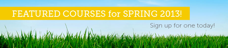 Featured Courses for Spring