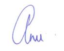 Anu new signature