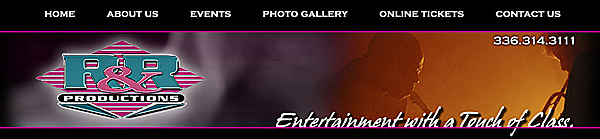 RR Productions Banner
