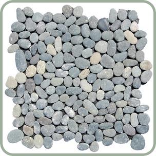 River Rock Pebble Tile