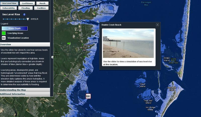 WwwNJFloodMapperorg Now LIVE - How to check sea level from google map