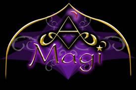 A MAGI Logo Black