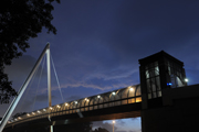 Mounted Willis Family Bridge Photo, one of many auction items