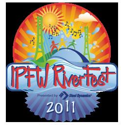 RiverFest Medallion 2011 revised