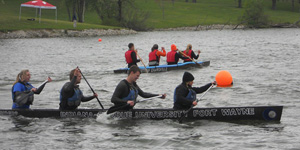 Cement canoe competition