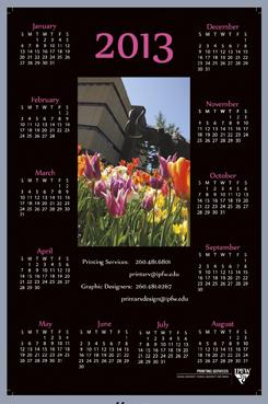 IPFW calendar