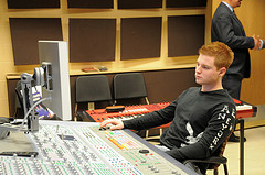 Music technology student