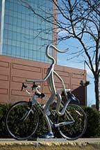 Bike Rack Runner by Hadiya Finley