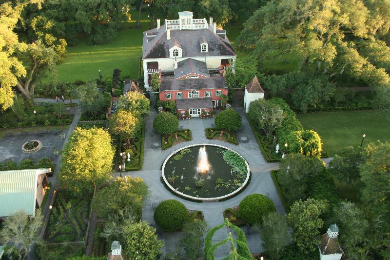 Hampton Garden from Above