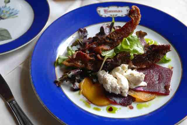 Beet/Crab salad