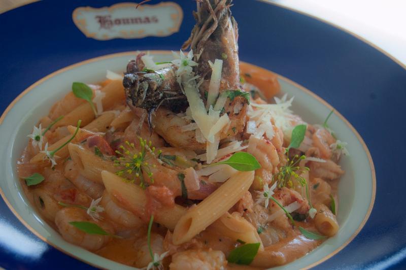 LA Seafood Pasta