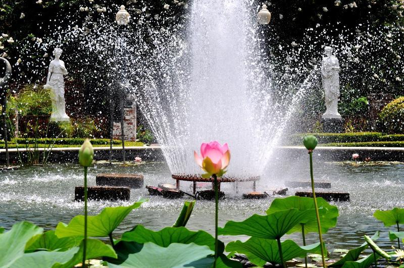 hampton fountain