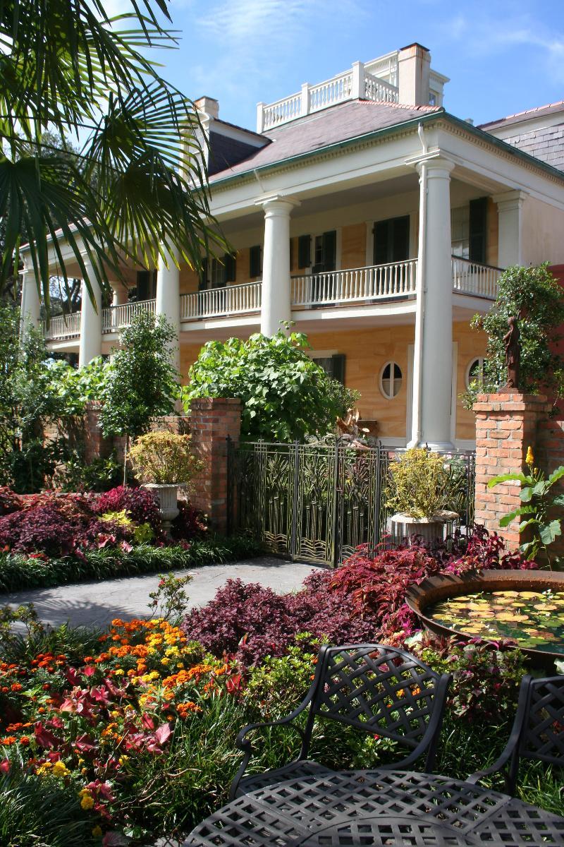 Houmas House from Gardens