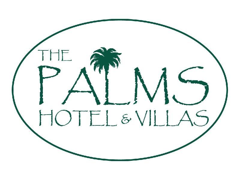 Palms Logo White