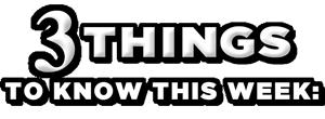 3 Things white logo