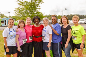 Memorial Regional Challenge 5K Runners
