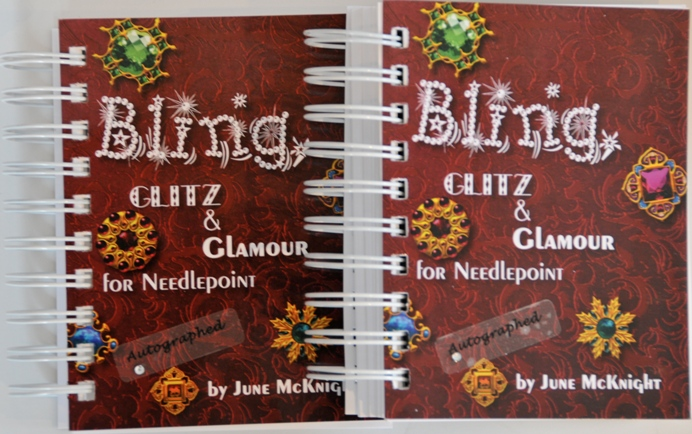 Bling Book, Needlepoint