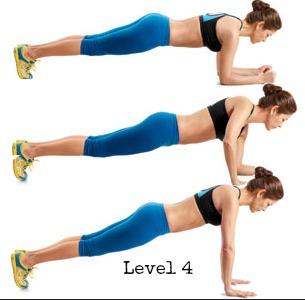 Plank Level 4