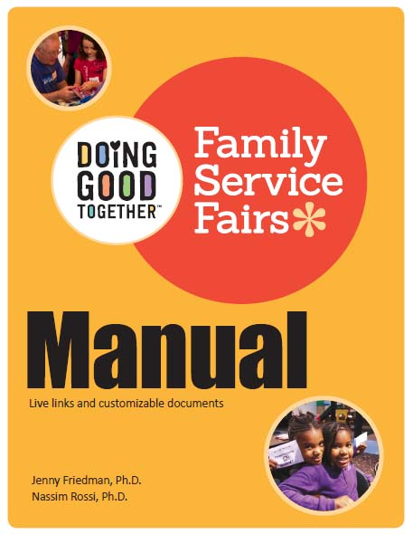 Doing Good Together Family Service Fair Manual with Online Toolkit