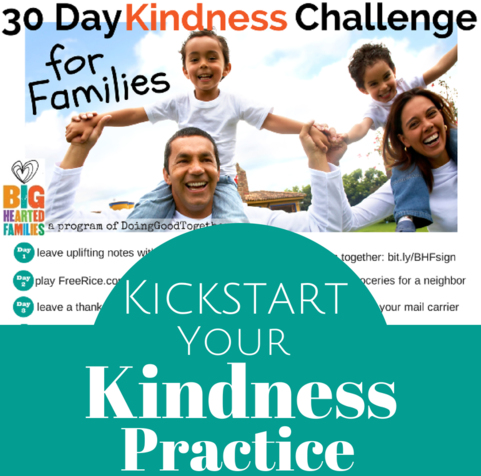 DGT 30 Day Practice Kindness