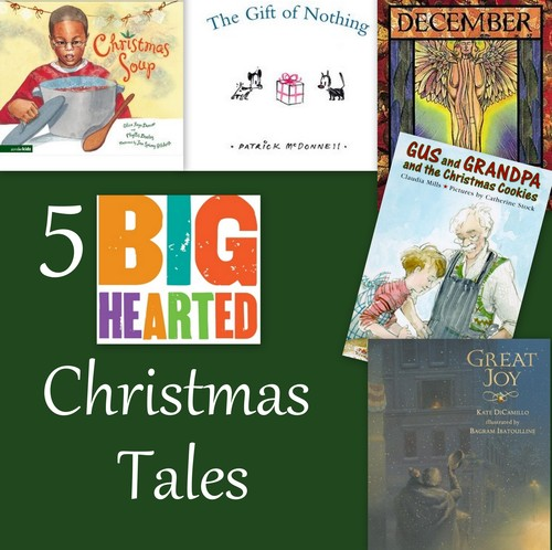 Big-Hearted Familie section kindness-themed holiday books