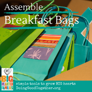 DGT Assemble Breakfast Bags