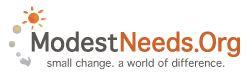 modest needs logo