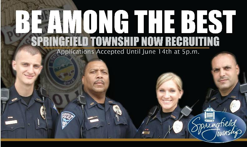Springfield township police department now hiring