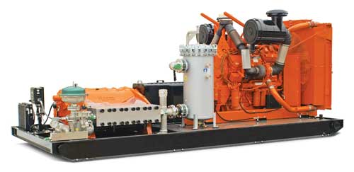 NLB is first with 1000 hp pump
