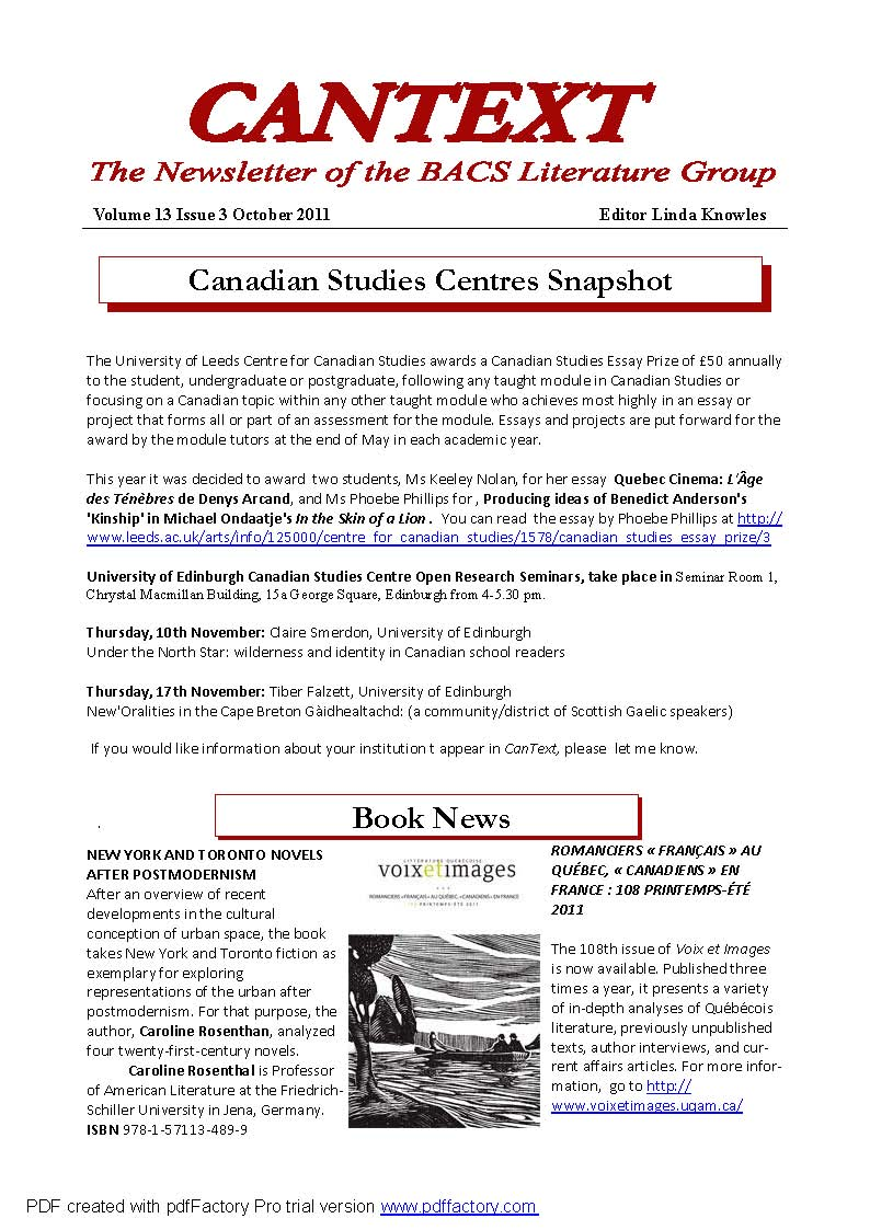CanText front page